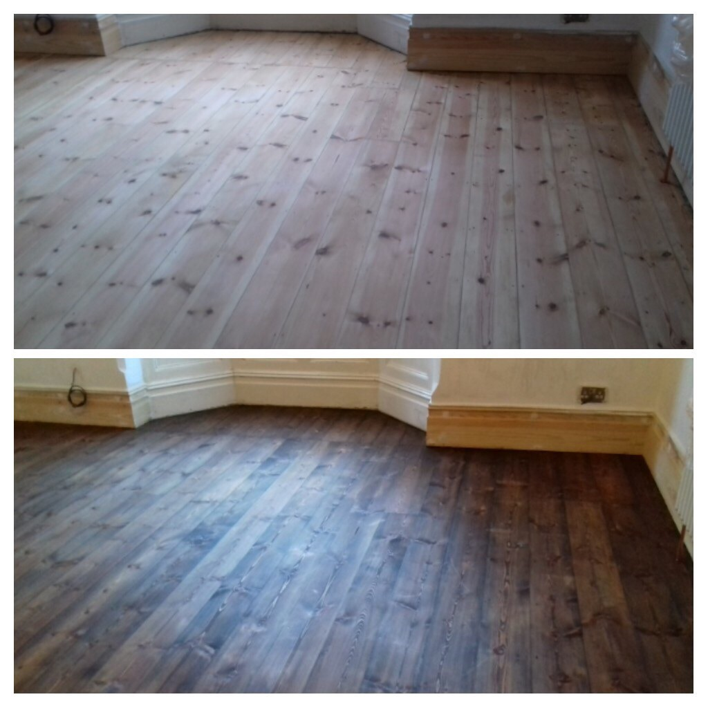 pine-floor-stained-antique-oak-stained-bournemouth